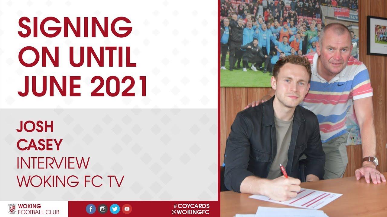 Josh Casey   Signing On Until 2021