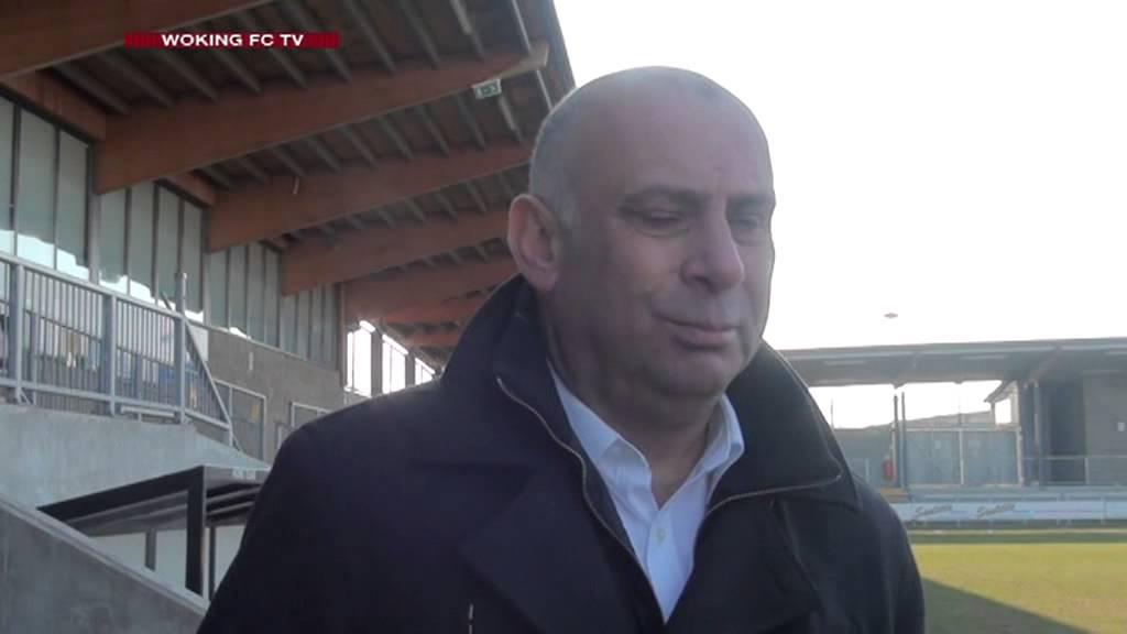 Dartford 4 - 1 Woking (Garry Hill Interview)