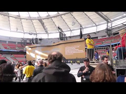 U2 Concert Vancouver 2017-05-12 - Walk into the stadium