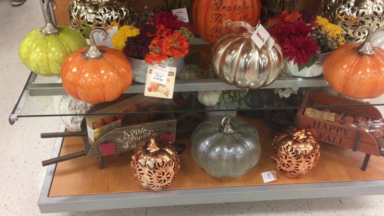 Shop With Me!! TJ Maxx / Halloween / Fall Decor 2017