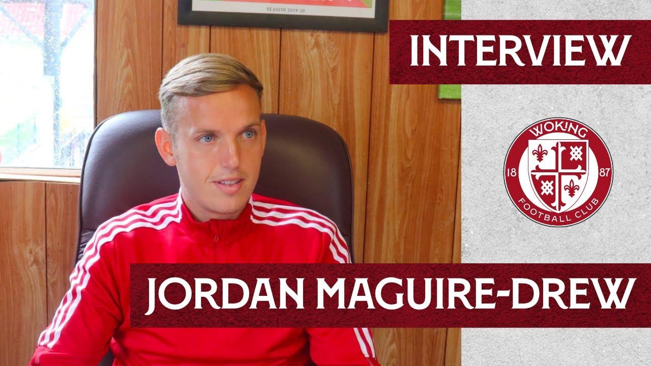 Jordan Maguire-Drew Interview