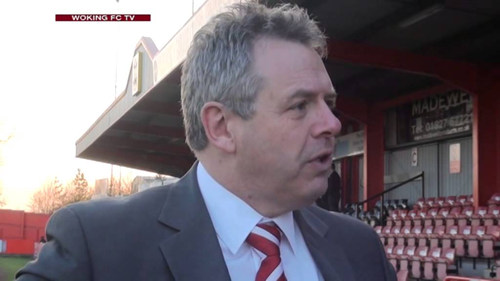 Tamworth 2 - 1 Woking (Mike Smith Interview)