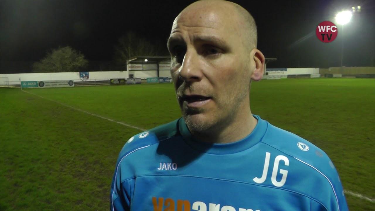 Maidenhead United 2 - 1 Woking (Jason Goodliffe Interview)