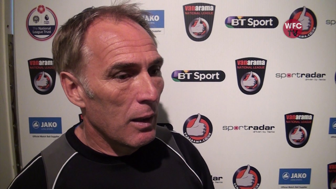 Woking 2 - 1 Sutton United (Steve Thompson Interview)