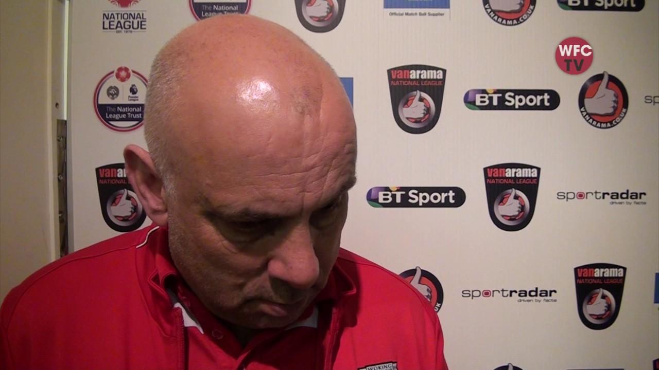 Woking 0 - 0 Boreham Wood (Garry Hill Interview)
