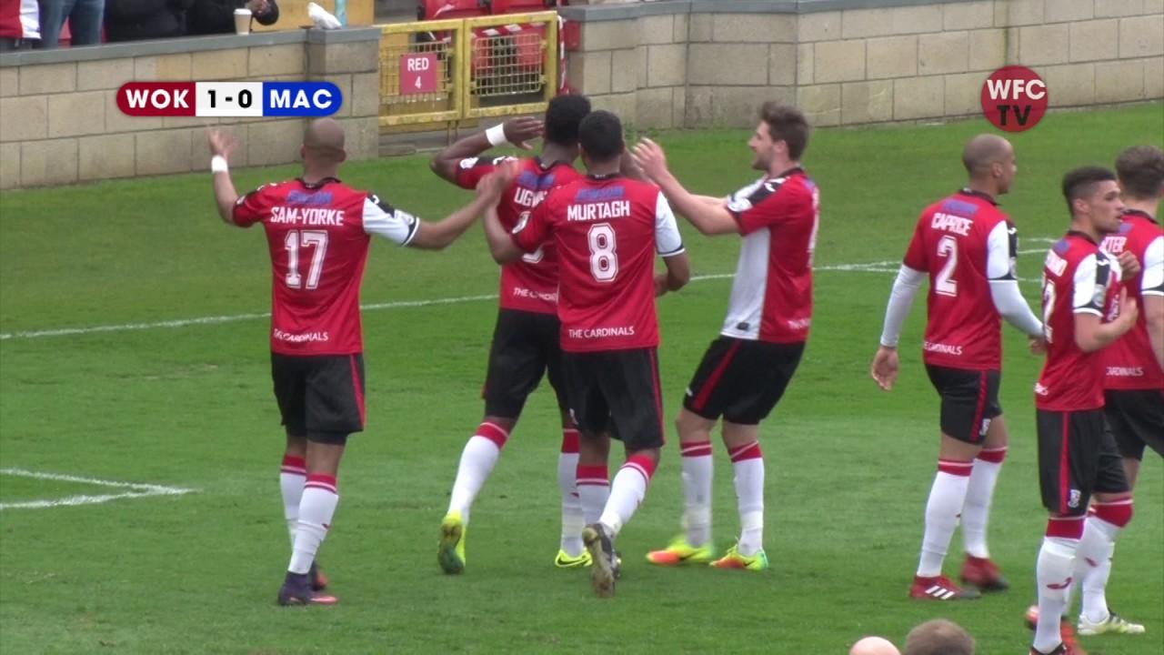 Woking 1 - 0 Macclesfield Town