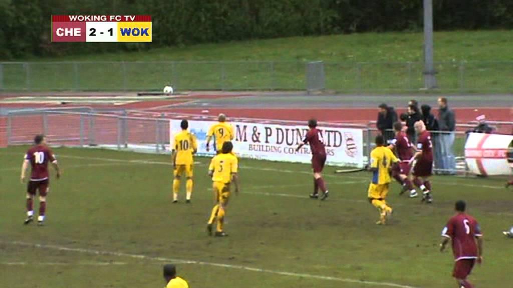 Chelmsford City 2-3 Woking