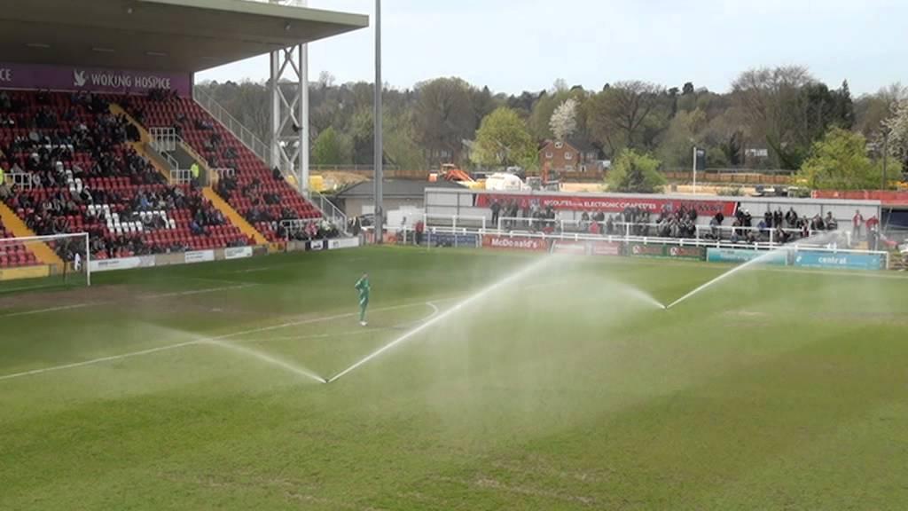 Woking 2 - 1 Alfreton Town (Sprinkler Time!)