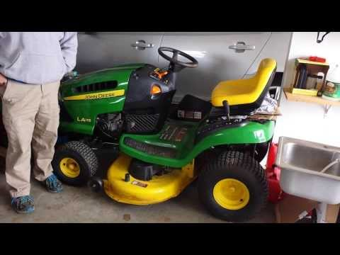 Moving to Richmond VA must sale local John Deere lawn mower on Craigslist for sale in Asheville NC