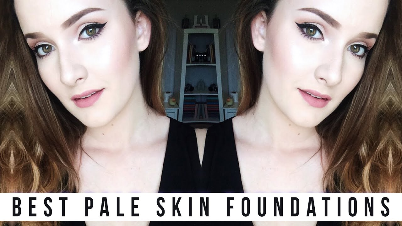 Best Foundations for Pale Skin // shadesofpale