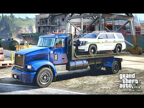 GTA 5 REAL LIFE MOD #253 LET'S GO TO WORK!! (GTA 5 REAL LIFE MOD)