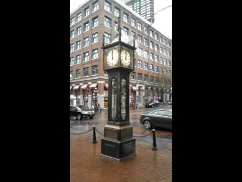 Reloj de vapor en Vancouver