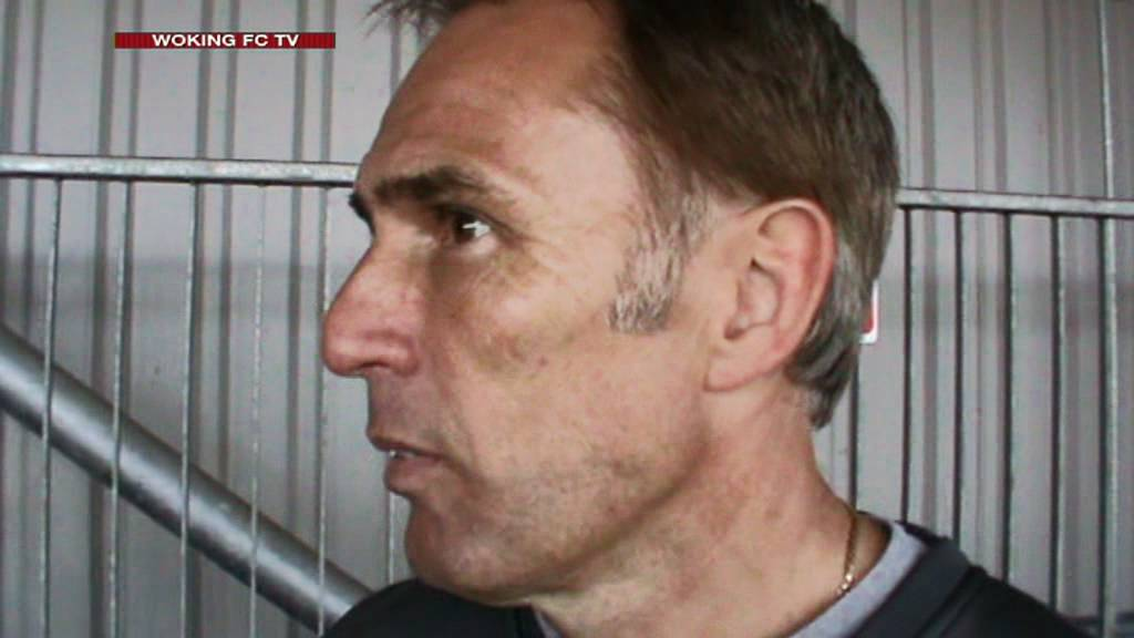 Chelmsford City 2-3 Woking (Steve Thompson Interview)