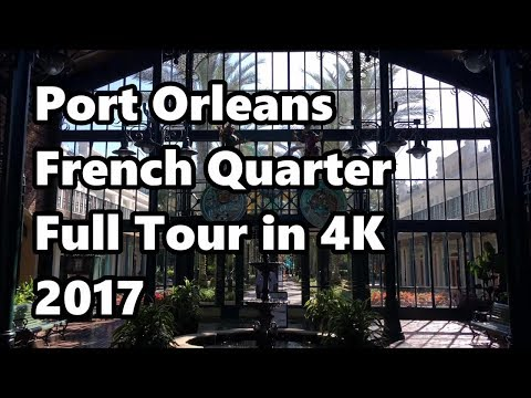 Disney's Port Orleans: French Quarter | Full Tour 2017 in 4K UHD | Walt Disney World