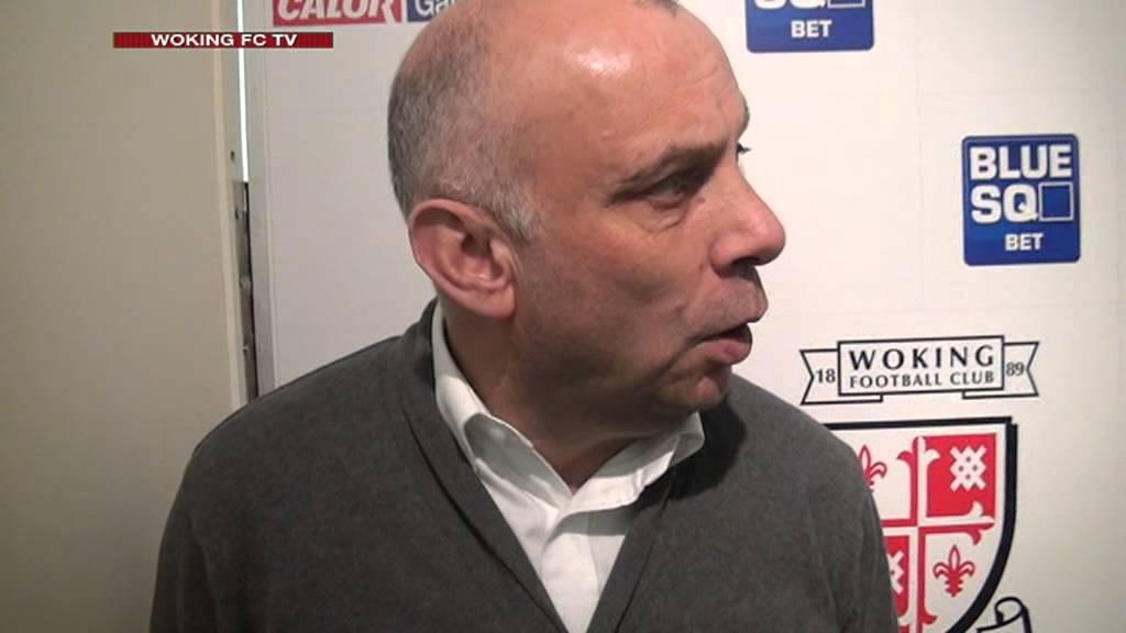 Woking 2-0 Wrexham (Garry Hill Interview)