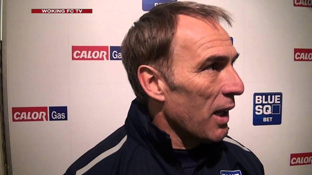 Woking 1-1 Hereford United (Steve Thompson Interview)