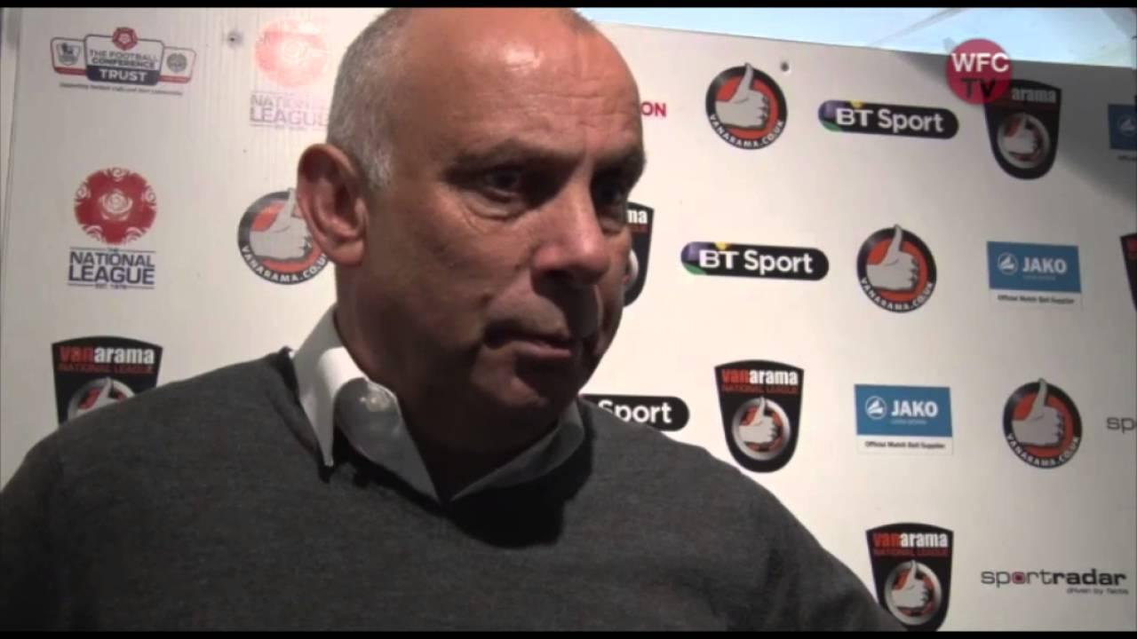 Woking 1 - 1 Gateshead (Garry Hill Interview)