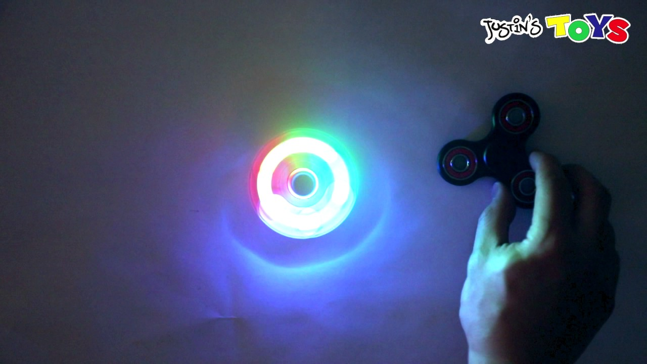 LED light up Fidget Spinner - Coolest New Design
