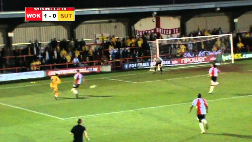 Woking 3-1 Sutton United