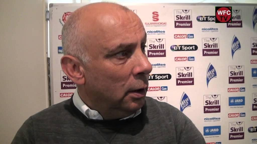 Woking 1-2 Aldershot Town (Garry Hill Interview)