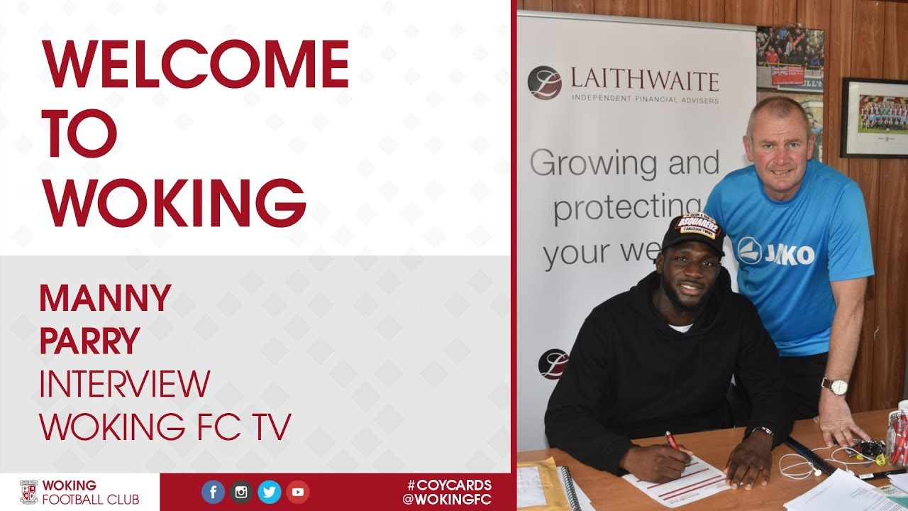 Manny Parry   Welcome To Woking