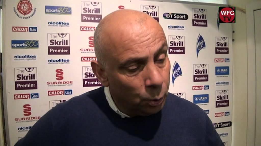 Woking 2-1 Wrexham (Garry Hill Interview)