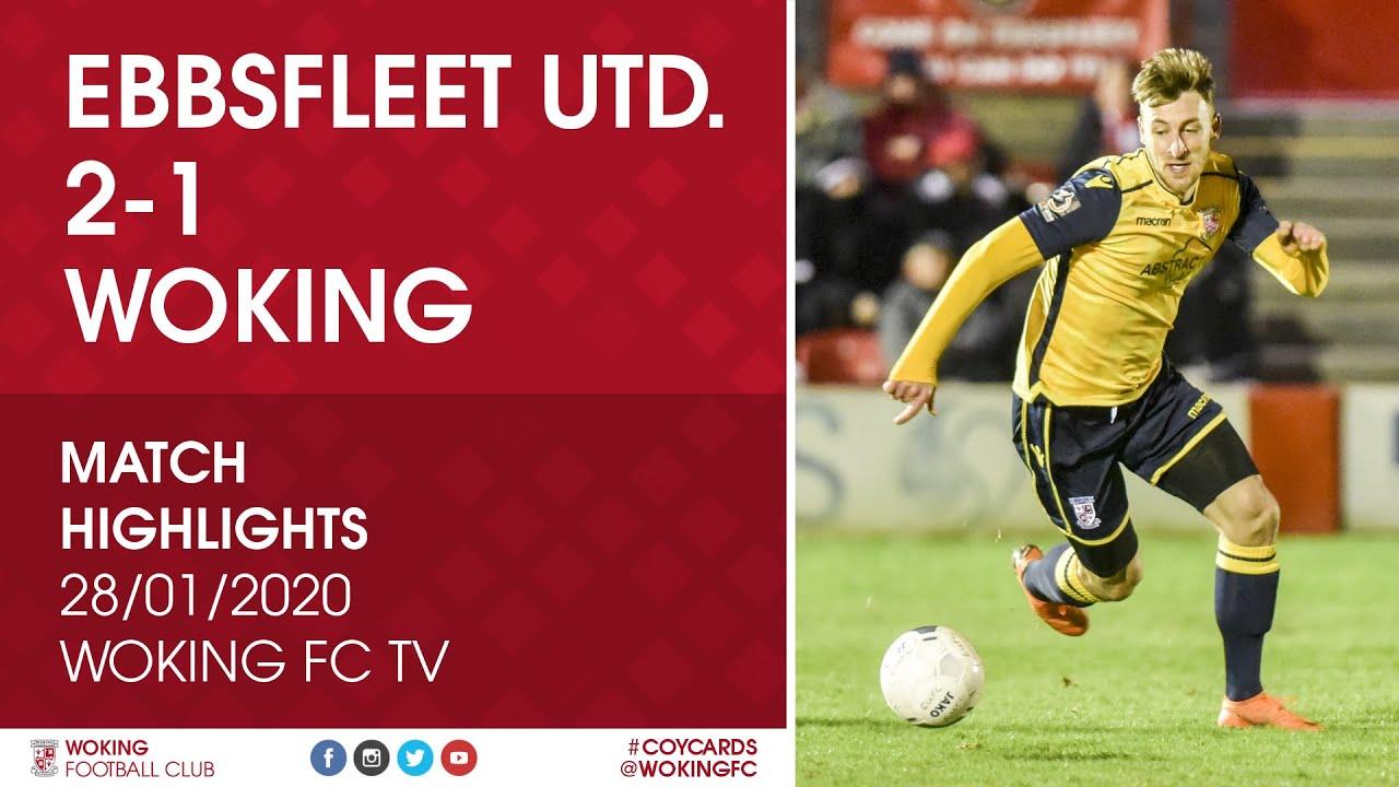 Ebbsfleet United 2 - 1 Woking