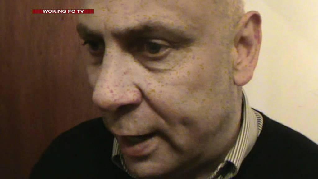 Maidenhead United 0-1 Woking (Garry Hill Interview)