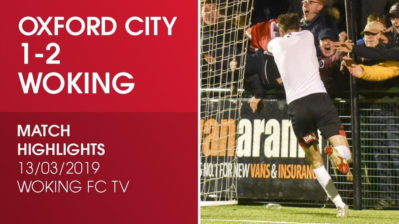 Oxford City 1-2 Woking