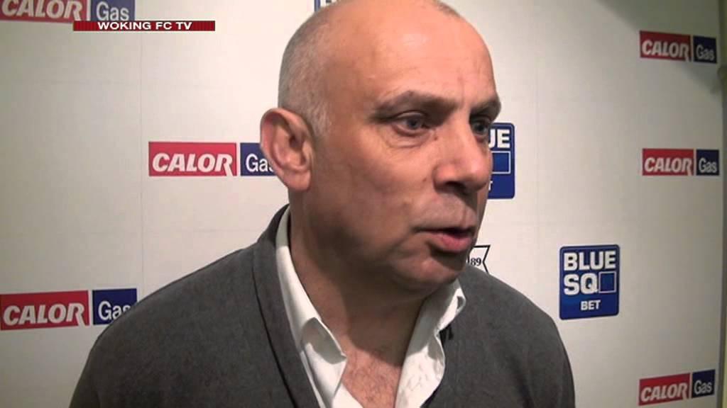Woking 0-1 Grimsby Town (Garry Hill Interview)