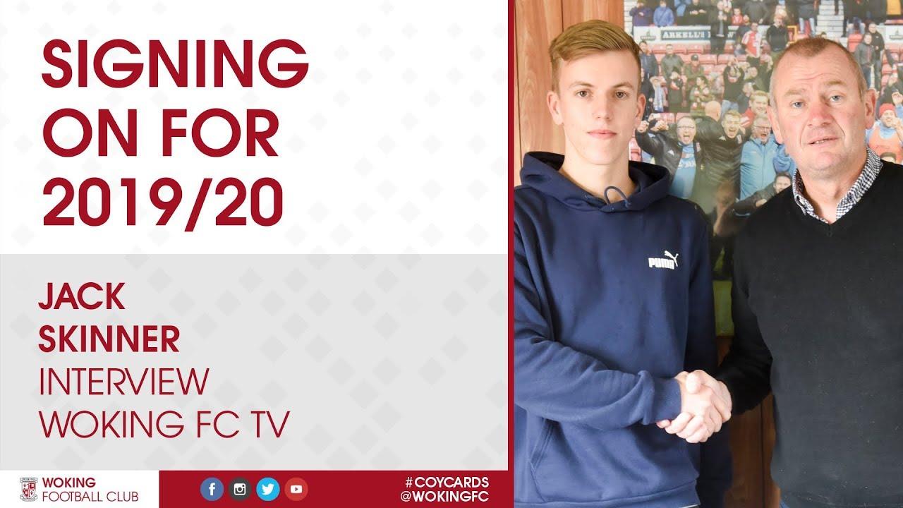 Jack Skinner   Signing On For 2019/20