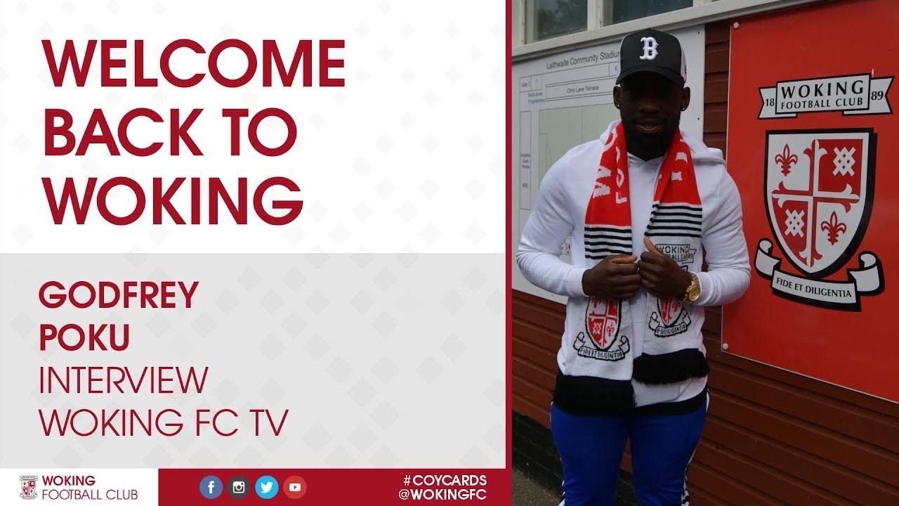 Godfrey Poku   Welcome Back To Woking