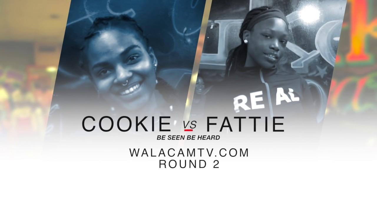 WALACAMTV ITS ON!!! ''HIP ROLL BATTLE'' COOKIE VS FATTIE ROUND 2 @ FINAL PHAZE DA /WARZONE