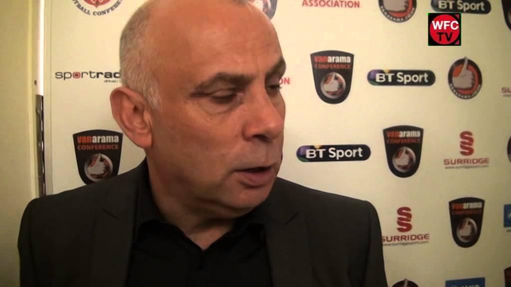 Woking 3 - 2 FC Halifax Town (Garry Hill Interview)
