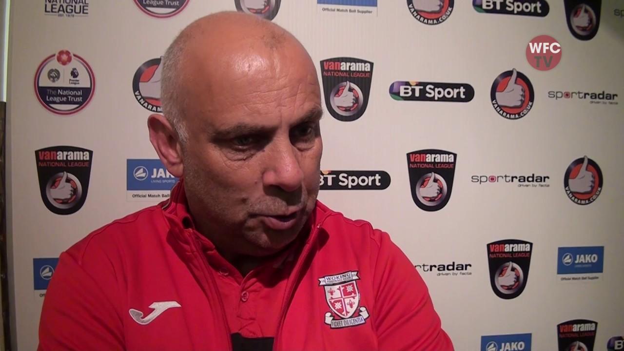 Woking 1 - 0 Macclesfield Town (Garry Hill Interview)