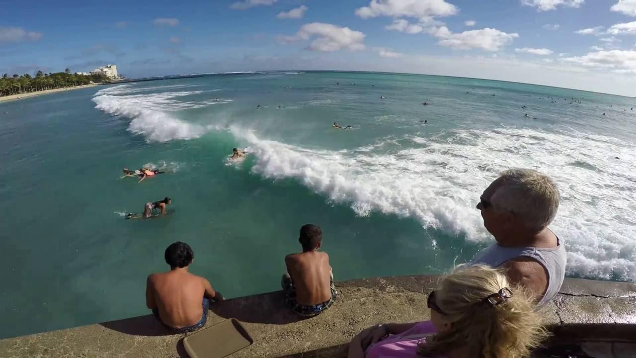 Good Surf Waikiki in Aug, 2016