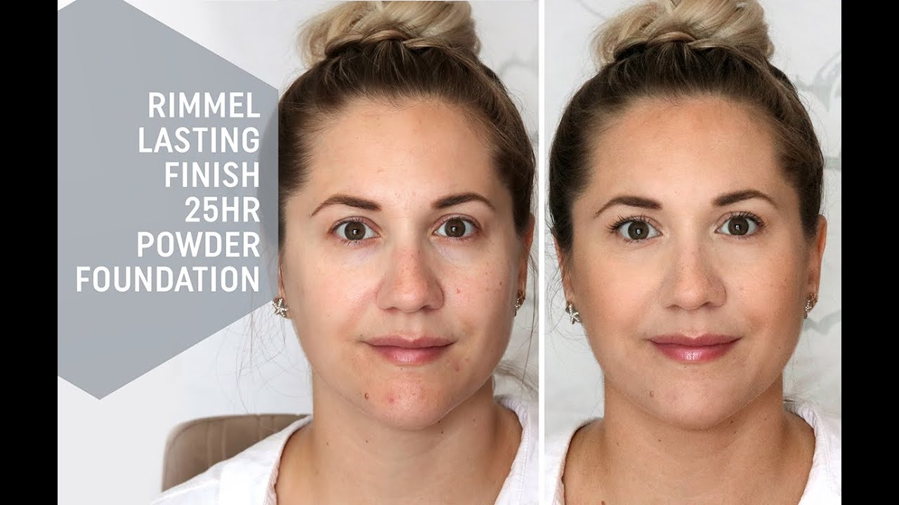 Rimmel Lasting Finish 25hr Powder Foundation | Review & Demo