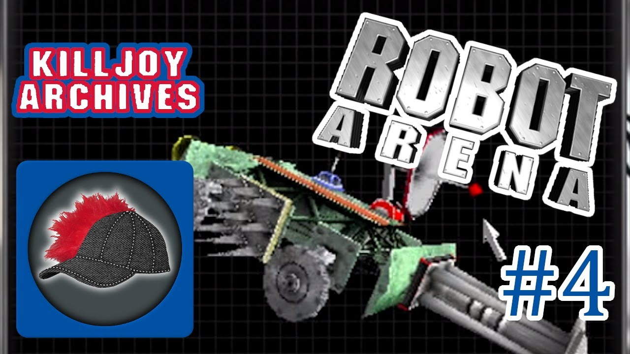 Robot Arena — Part 4: They're Anything but Menacing