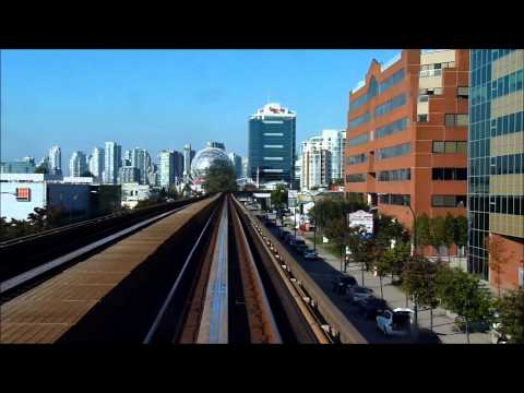 Ride the Skytrain Vancouver Sightseeing HD