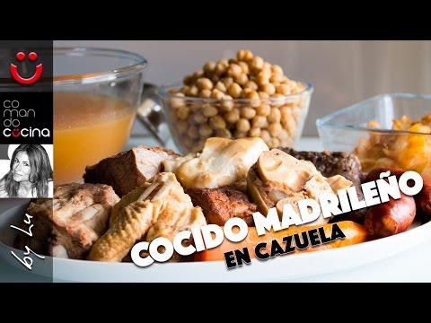 COCIDO MADRILEÑO en cazuela a fuego lento I Comando Cocina