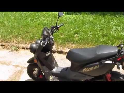2013 Yamaha Zuma 50 F, First Look & Overview