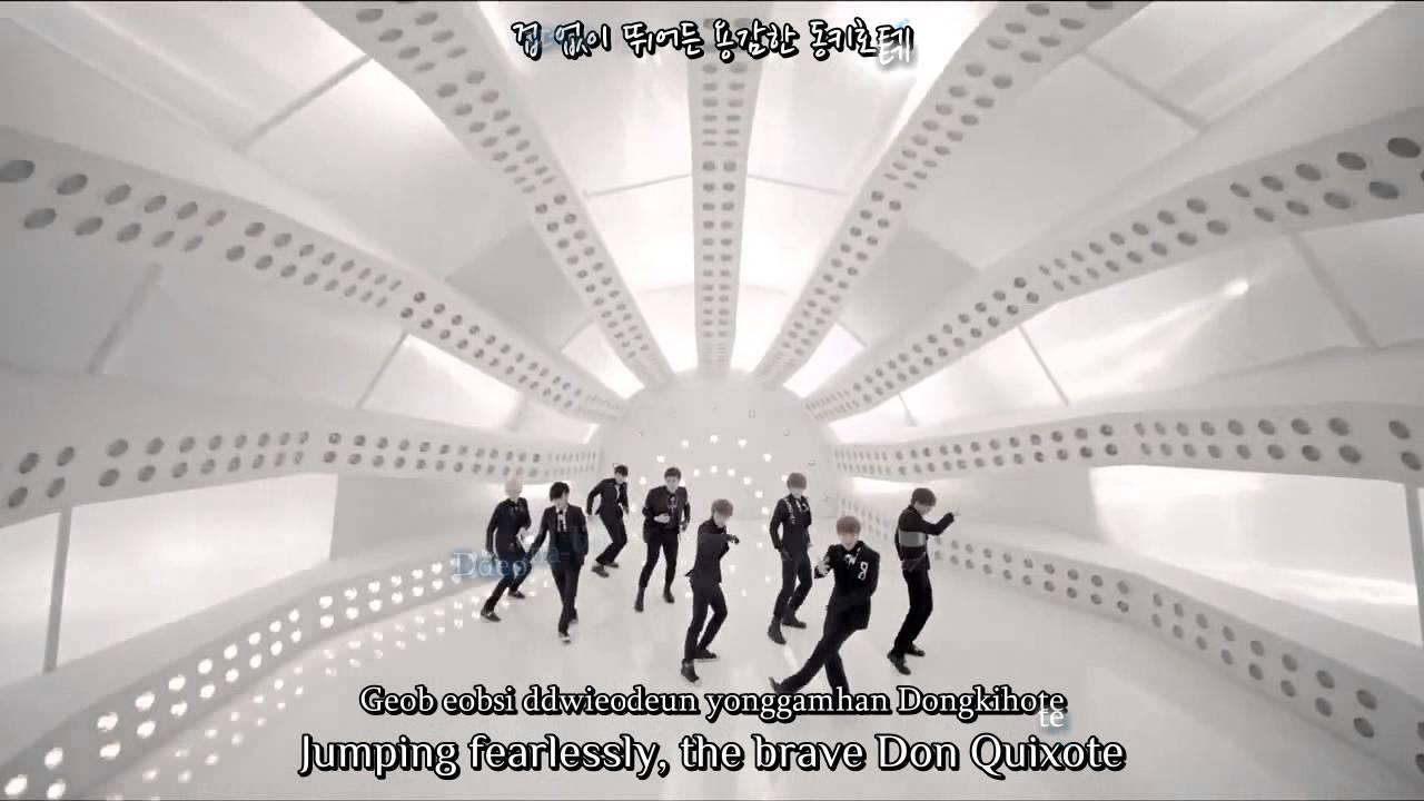 Super Junior - A-Cha (Dance Ver. 2) {Eng, rom, han}
