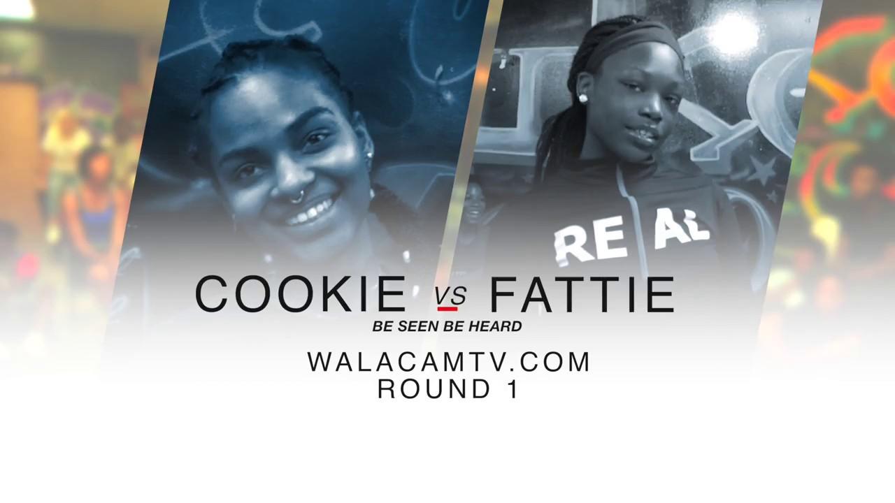 WALACAMTV ITS ON!!! ''HIP ROLL BATTLE'' COOKIE VS FATTIE ROUND 1 @ FINAL PHAZE /DA WARZONE
