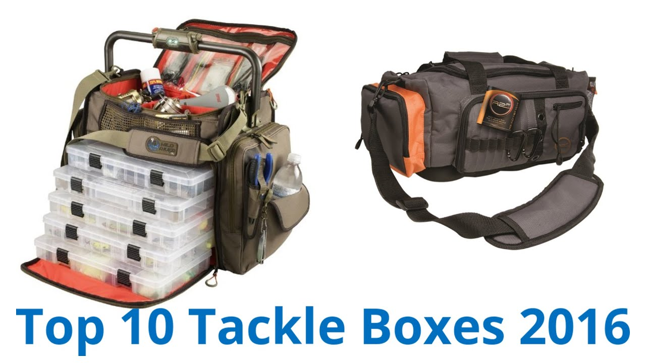 10 Best Tackle Boxes 2016