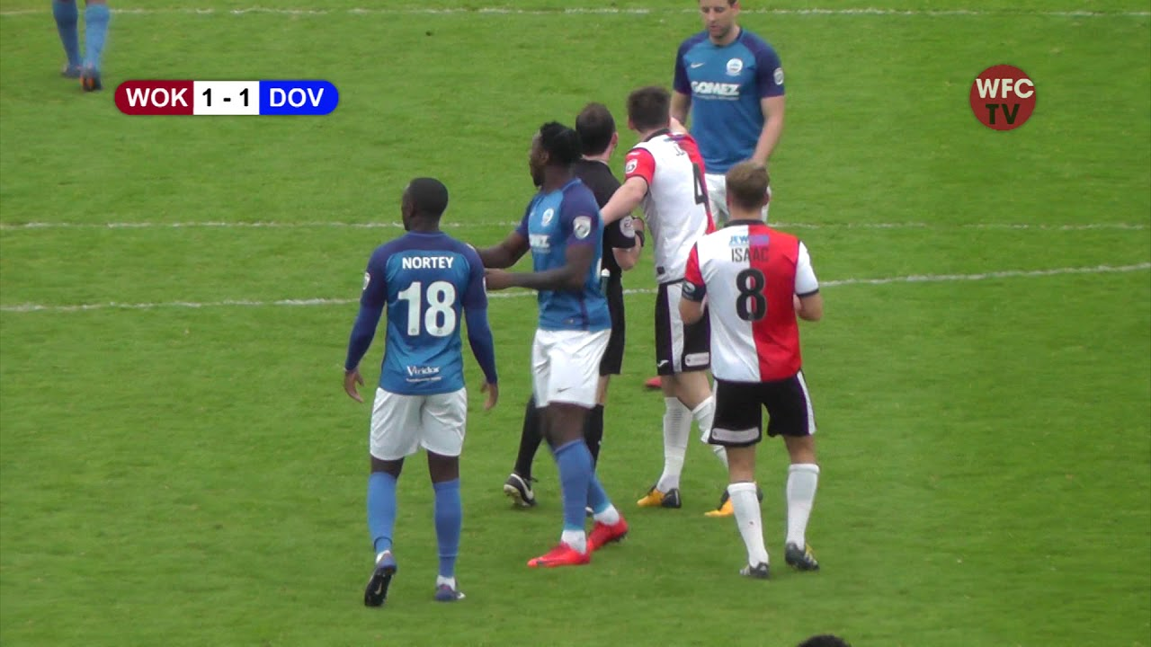 Woking 1 - 2 Dover Athletic (Match Highlights 2)