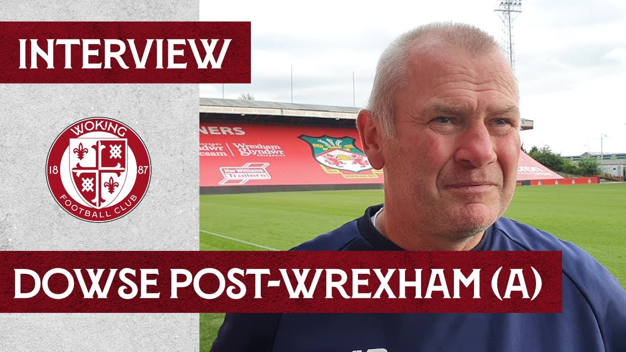 Wrexham 1-0 Woking | Dowse Interview
