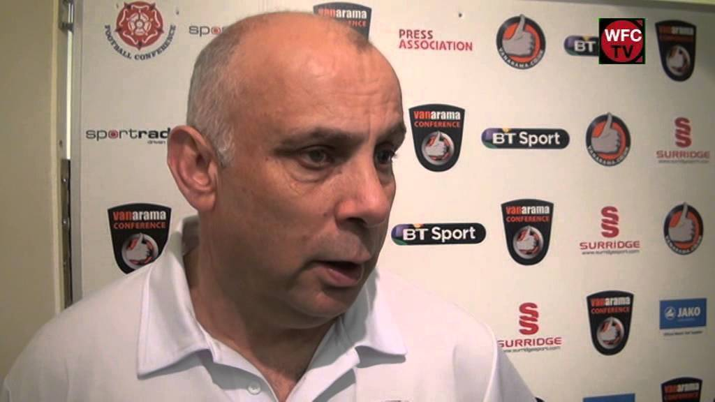 Woking 3 - 0 Gateshead (Garry Hill Interview)