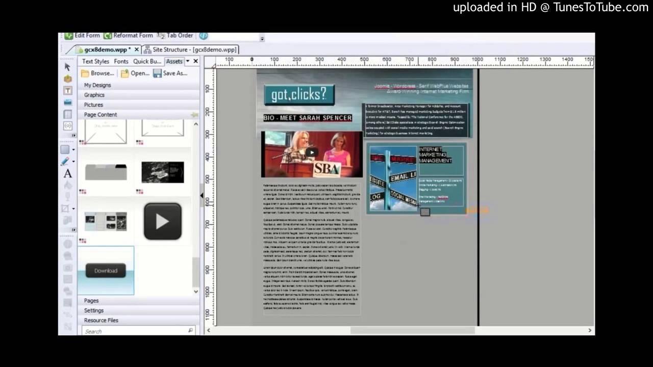 Serif WebPlus X8 Lesson 3 PayPal E-Commerce
