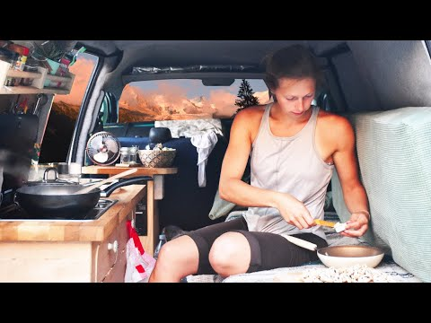 AMAZING TINY VAN CONVERSION - FULL TOUR!