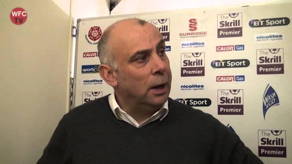 Woking 3 - 2 Macclesfield Town (Garry Hill Interview)